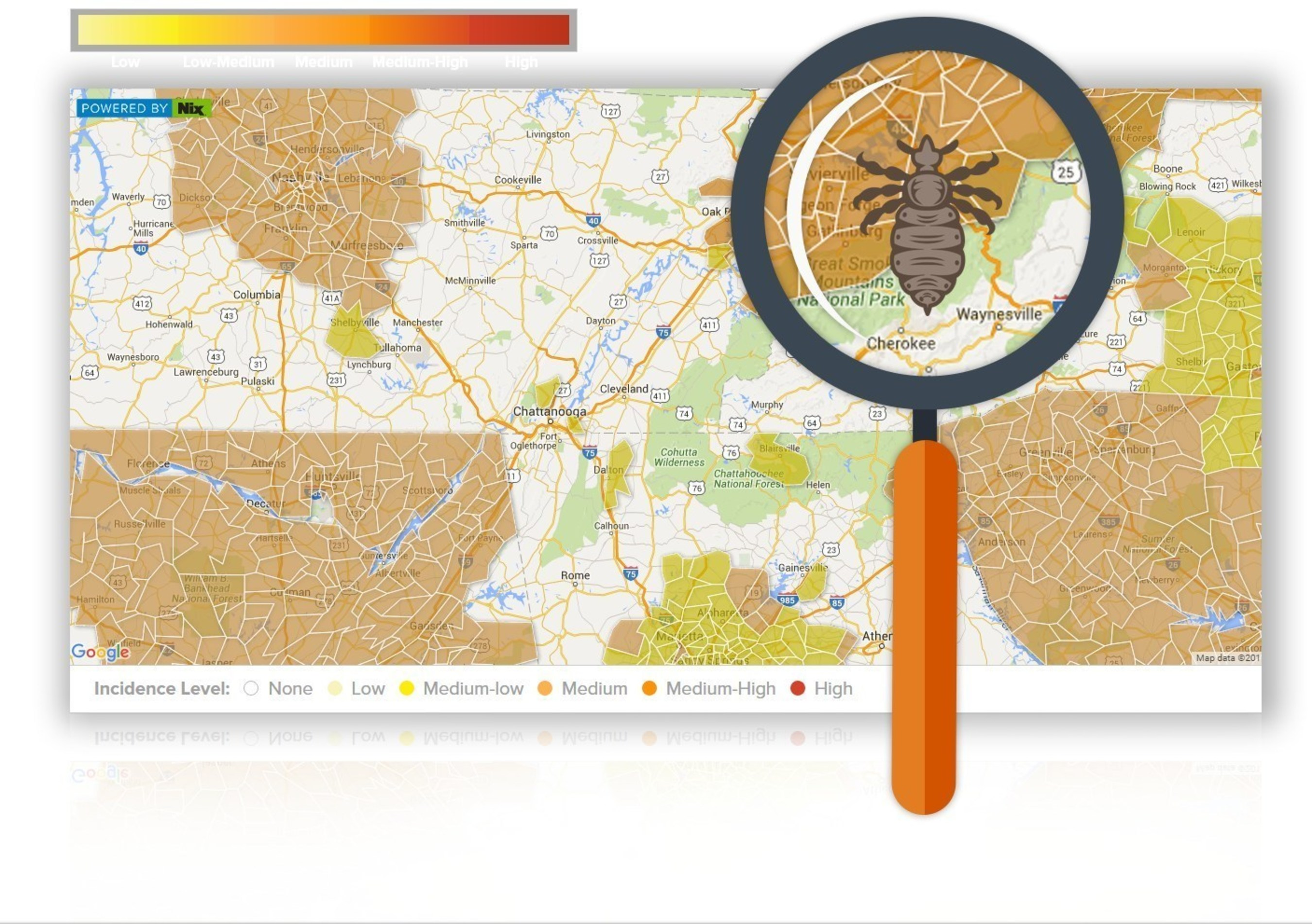 Nix' Launches First-Ever Lice Tracker