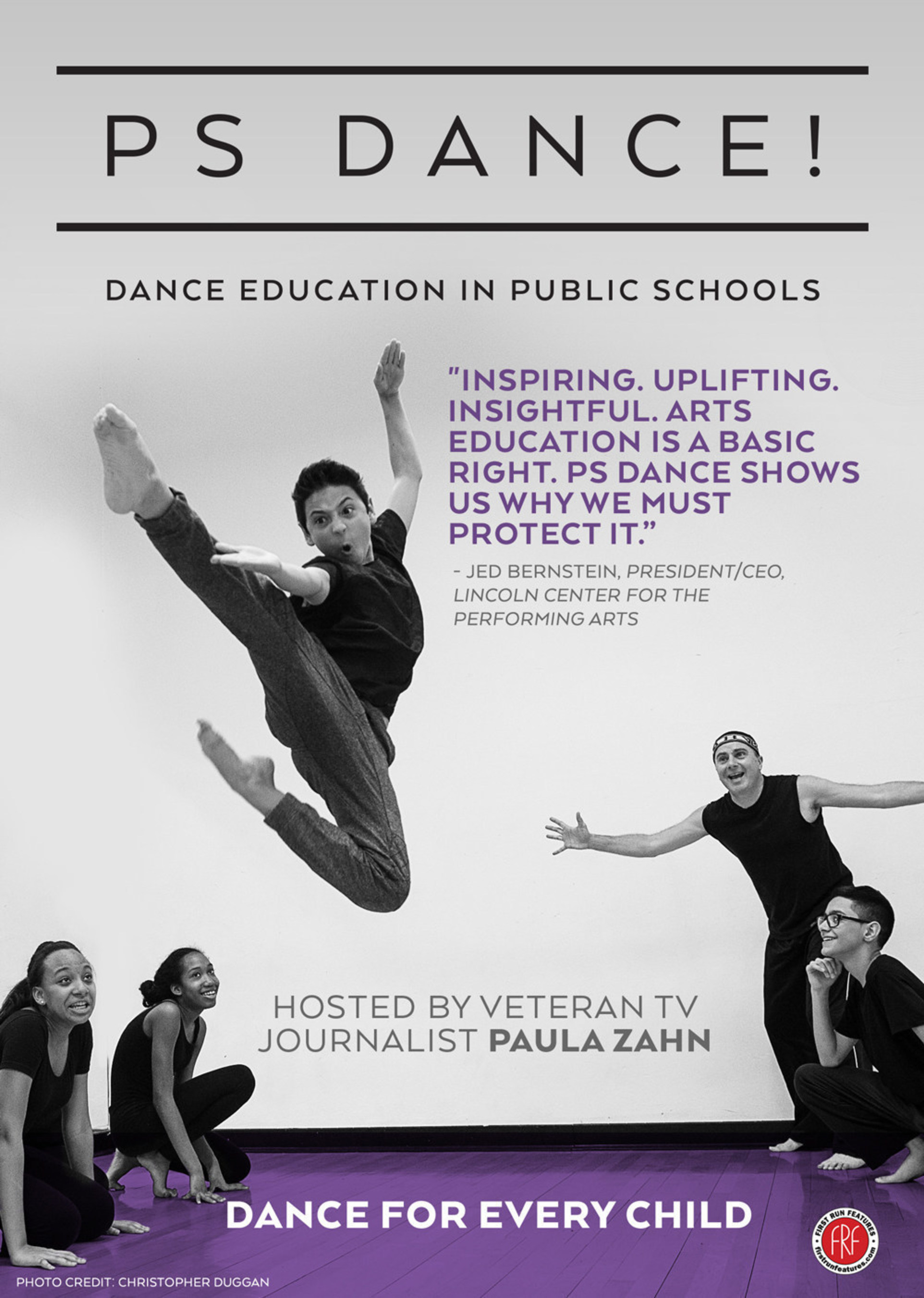 New Dance Education Documentary PS DANCE! Reveals Transformative Power Of Dance In Public Schools