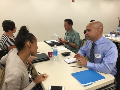 """It is not often you get the chance to receive feedback to improve your interviewing skill,"" WWP Alumnus and Army veteran Franky Hernandez said. Franky was one of the participants in a recent interview workshop in Hawaii."
