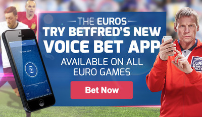 Betfred's new voice bet app