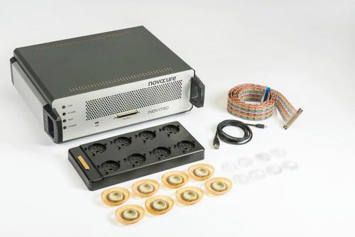 inovitro(tm) Lab Research System. (PRNewsFoto/Novocure) (PRNewsFoto/NOVOCURE)