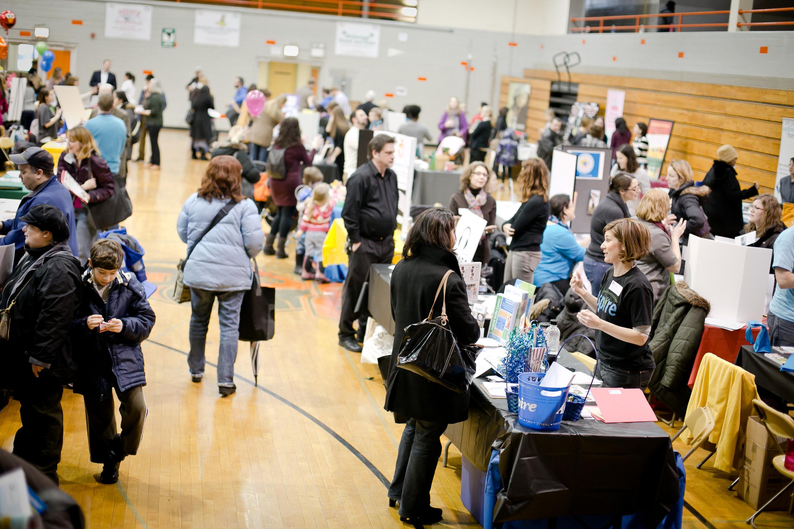 School fair (PRNewsFoto/Neighborhood Parents Network)