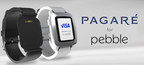 Pagare - Contactless Payments Smartstrap for the Pebble Time Family of Smartwatches