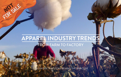 Modern-day slavery, which currently affects more than 30 million people, is used throughout the production of many clothing products sold on U.S. shelves. A new report from Not For Sale looks at the way over 300 clothing brands manage their supply chains to address child and forced labor. View the report at: www.free2work.org/trends/apparel/.  (PRNewsFoto/Not For Sale)