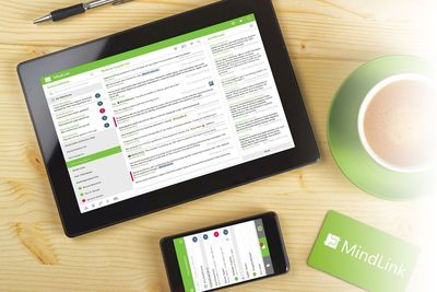 Secure Enterprise Chat & Messaging (PRNewsFoto/MindLink Software Ltd)