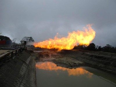 Flow test at Triceratops-3