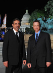 Actors Joe Mantegna and Gary Sinise co-host the 2014 NATIONAL MEMORIAL DAY CONCERT, the 25th anniversary of the live broadcast from the West Lawn of the U.S. Capitol.  The program airs on Sunday, May 25, 2014, from 8:00 to 9:30 p.m. (PRNewsFoto/Capital Concerts)