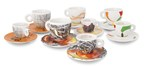 illy sustainArt Cup Collection (PRNewsFoto/illy)