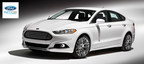 First shipments of the safe and efficient 2015 Ford Fusion recently arrived at Matt Ford near Kansas City. (PRNewsFoto/Matt Ford)