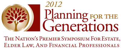The 2012 Planning for the Generations Symposium will be held July 18-20, 2012 at the Hyatt Regency Denver.  (PRNewsFoto/WealthCounsel, LLC)