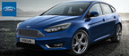 Drivers in the Davenport, Iowa can look forward to improved performance and modern style with the 2015 Ford Focus at Dahl Ford. (PRNewsFoto/Dahl Ford)