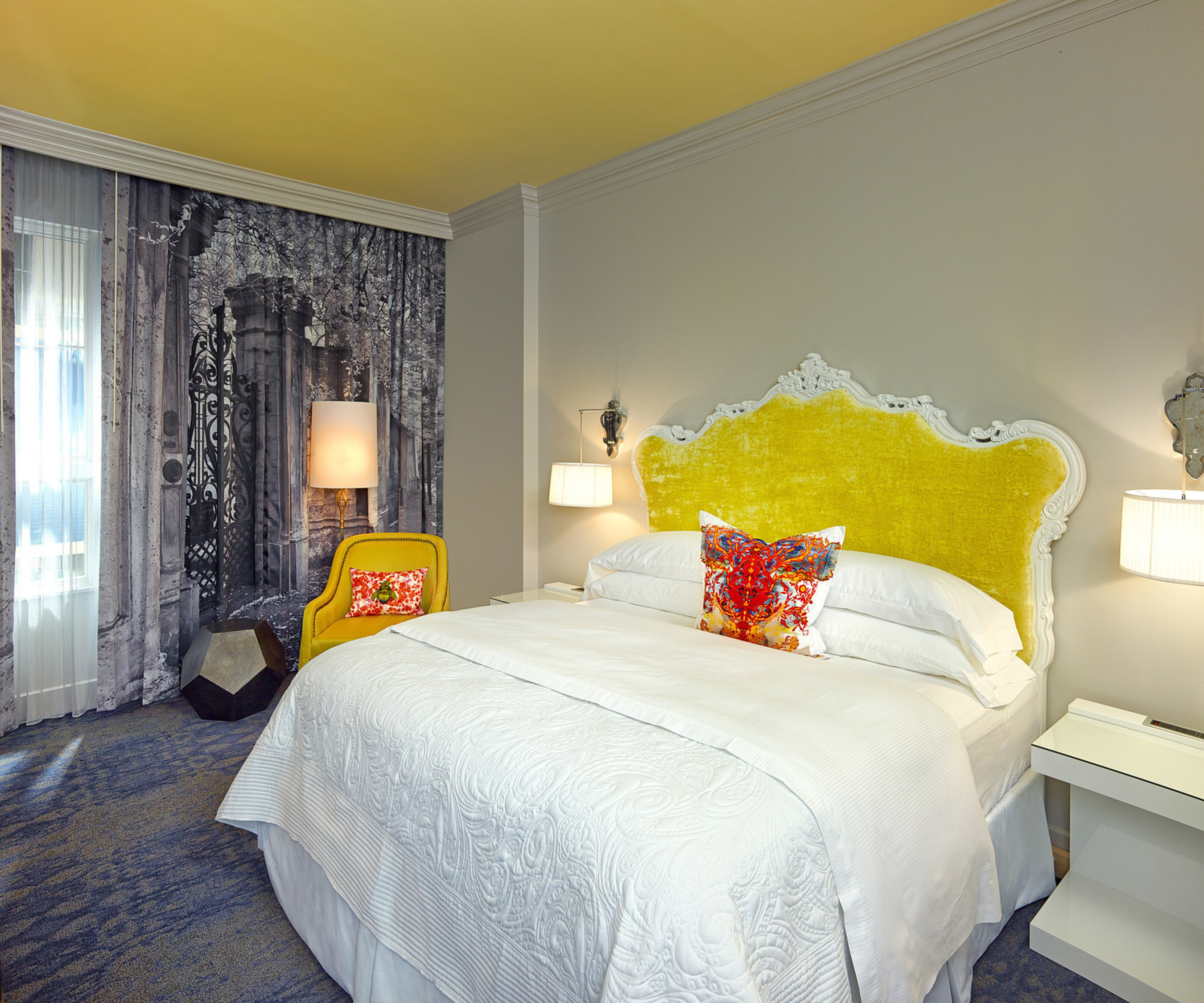 Sneak peek into the brand new rooms at The Kessler Collection's newest hotel -- The Grand Bohemian Hotel Charleston -- set to debut Summer 2015.