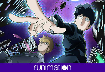 Mob Psycho 100 key art - courtesy of Funimation Entertainment