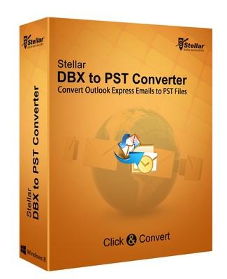 Stellar DBX to PST Converter (PRNewsFoto/Stellar Data Recovery)
