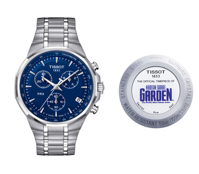 Swiss watchmaker Tissot announces new watches as part of Madison Square Garden partnership.  (PRNewsFoto/Tissot Swiss Watches)