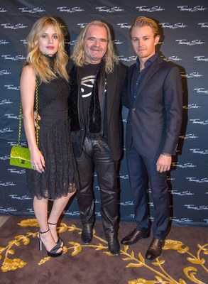 Georgia May Jagger and Nico Rosberg at the presentation of the THOMAS SABO Spring/Summer Collection 2016 in Vienna (PRNewsFoto/THOMAS SABO)