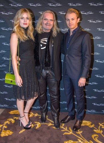 Georgia May Jagger and Nico Rosberg at the presentation of the THOMAS SABO Spring/Summer Collection 2016 in Vienna (PRNewsFoto/THOMAS SABO) (PRNewsFoto/THOMAS SABO)