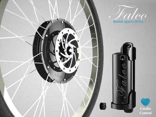 Falco Fusion Sports Turns Any Bicycle Into A Cardio-Controlled eBike (PRNewsFoto/Falco) (PRNewsFoto/Falco)