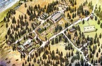 Planned 78 Acre Year-Round Retreat Center, Running Springs, California (Bnei Akiva of Los Angeles) web: bneiakivala.org  phone: (310) 248-2450. (PRNewsFoto/Bnei Akiva of Los Angeles)