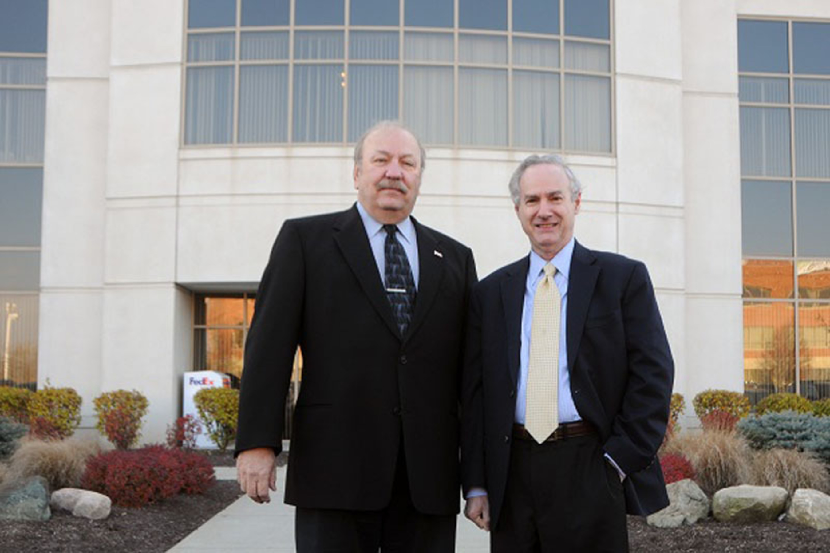 From left: Jim Blair and Marc Kiner of Premier Social Security Consulting (Paul Norton Photo).  (PRNewsFoto/National Social Security Advisors, Paul Norton Photo)