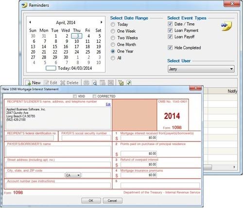 The Loan Office Screenshot  (PRNewsFoto/Applied Business Software)