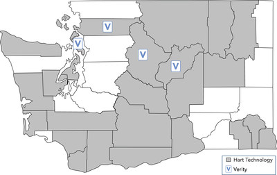 Of Washington's 39 counties, 26 rely on Hart InterCivic for election technology. With the state's certification of Verity's second major release, election stakeholders in Washington have access to further enhancements to Verity.
