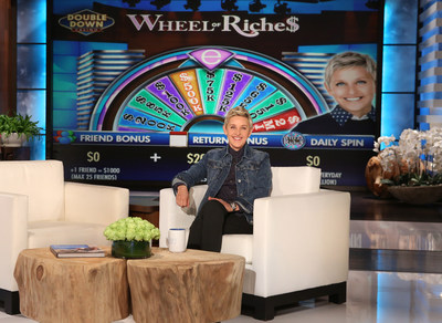 IGT's DoubleDown Casino Launches The Ellen DeGeneres Show(TM) Have a Little Fun Today Slots on Desktop and Mobile. Photo Credit: Michael Rozman / Warner Bros.
