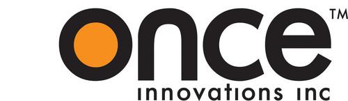 LED Technology Development Company; ONCE Corporate Logo; onceinnovations.com. (PRNewsFoto/Once Innovations) (PRNewsFoto/)