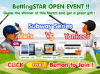 BettingSTAR Launches with Baseball Betting Contest.  (PRNewsFoto/SK Planet)