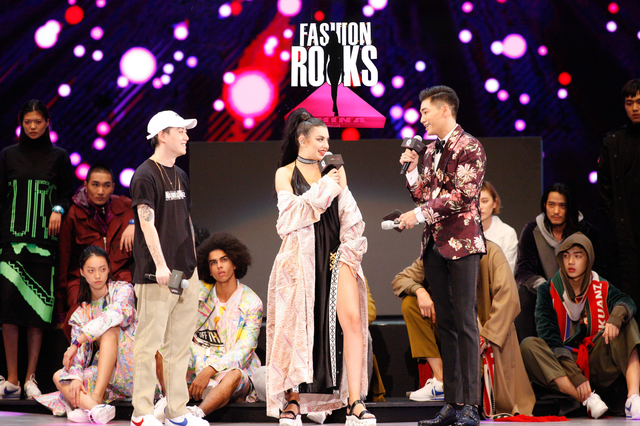 Charli XCX x SANKUANZ, Shanghai, 14th Oct 2016, First Fashion Rocks in Asia presented by APAX LIVE