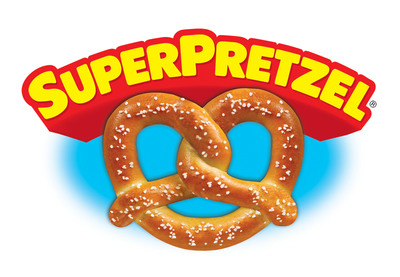 SUPERPRETZEL(R) Celebrates National Soft Pretzel Month.  (PRNewsFoto/J&J Snack Foods Corp.)