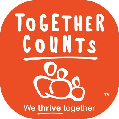 The Together Counts(TM) program is a comprehensive initiative designed to positively impact students to live active and healthy lifestyles.