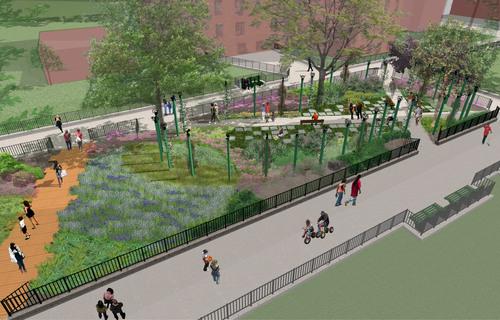 Mr. Peanut Takes Manhattan to Plant Urban Park