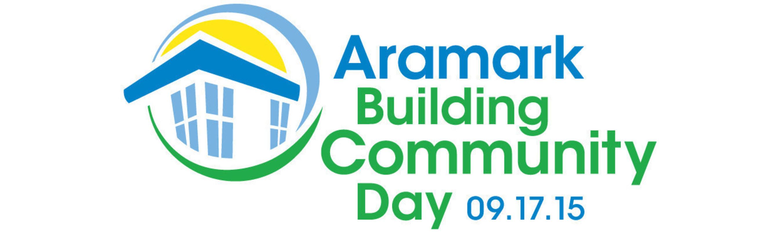 Aramark Building Community Day logo
