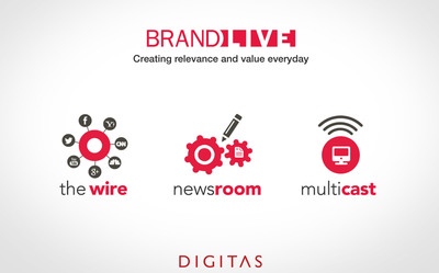 Digitas's BrandLIVE(TM): Creating Relevance & Value Everyday.  (PRNewsFoto/Digitas)