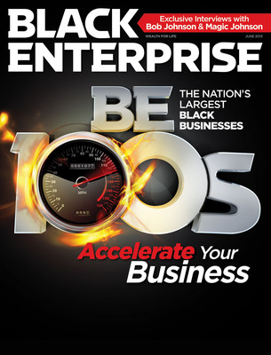 Black Enterprise publishes its latest BE 100s rankings of America's largest black-owned companies.  (PRNewsFoto/BLACK ENTERPRISE)