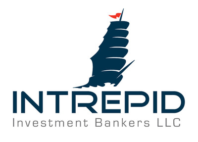 Intrepid Investment Bankers LLC, based in Los Angeles, California, is a mergers and acquisitions and corporate finance advisory firm focused on the middle-market.  Intrepid's services include M&A advisory, equity and debt capital raising and providing strategic advice in complex securities transactions. The firm focuses on the middle market corporate finance needs of entrepreneur and family-owned businesses, private equity sponsors and major corporations. Collectively, the senior team at Intrepid has advised on over 250 transactions spanning a broad range of industries, including consumer products and services, industrial manufacturing, healthcare products and services, building products, business services and retail. www.intrepidib.com Member FINRA/SIPC.  (PRNewsFoto/Intrepid Investment Bankers LLC)