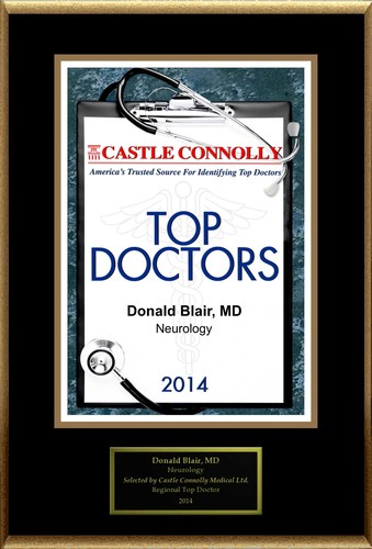 Dr. Donald Blair is recognized among Castle Connolly's Top Doctors(R) for Palmer, MA region in 2014. (PRNewsFoto/American Registry)