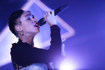 FKA twigs Performs at Swarovski 120th Anniversary Celebration (photo credit of BFA NYC.com)