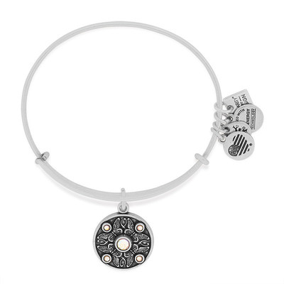 ALEX AND ANI Wings of Change Charm Bangle benefiting the American Stroke Association