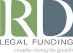 RD Legal Funding - Smarter Money for Growth - logo.  (PRNewsFoto/RD Legal Funding, LLC)