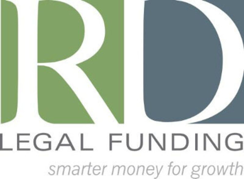 RD Legal Funding - Smarter Money for Growth - logo. (PRNewsFoto/RD Legal Funding, LLC) (PRNewsFoto/RD LEGAL FUNDING, LLC)