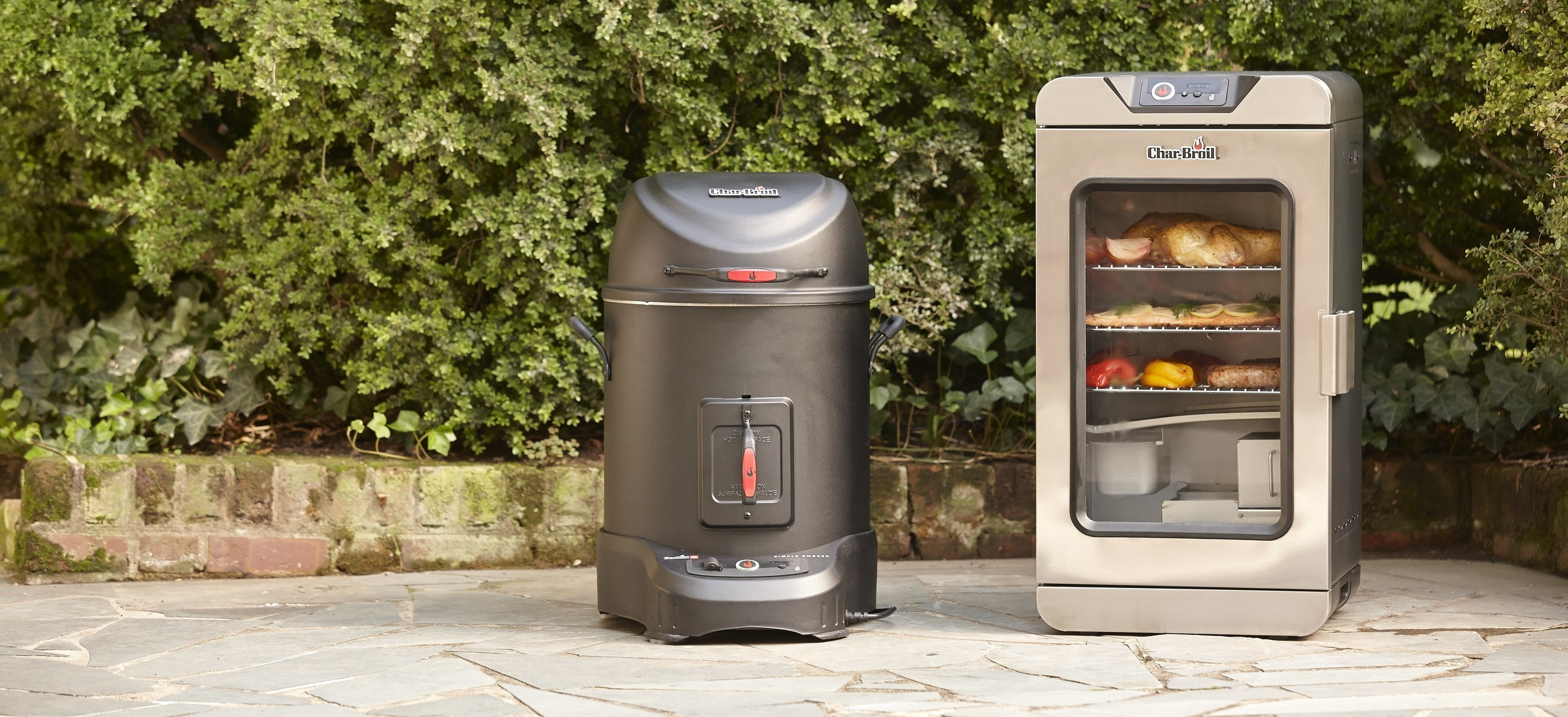 The first of their kind, the Simple Smoker ($299) and Digital Electric Smoker ($399) sync to your smart device over Wi-Fi utilizing the Char-Broil app, which allows connected users more convenience and freedom than ever before. Users of all skill levels will have an outdoor cooking experience that is all about leveraging innovative technology to consistently create superior taste, perfect cooking techniques and enjoy an effortless smoking routine.