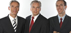 3doo Executive Vice President (Europe) Oliver Rapp, 3doo President Ingo Nadler, and 3doo Executive Vice President (North America) Michael Stougiannos (l to r).  (PRNewsFoto/3doo)