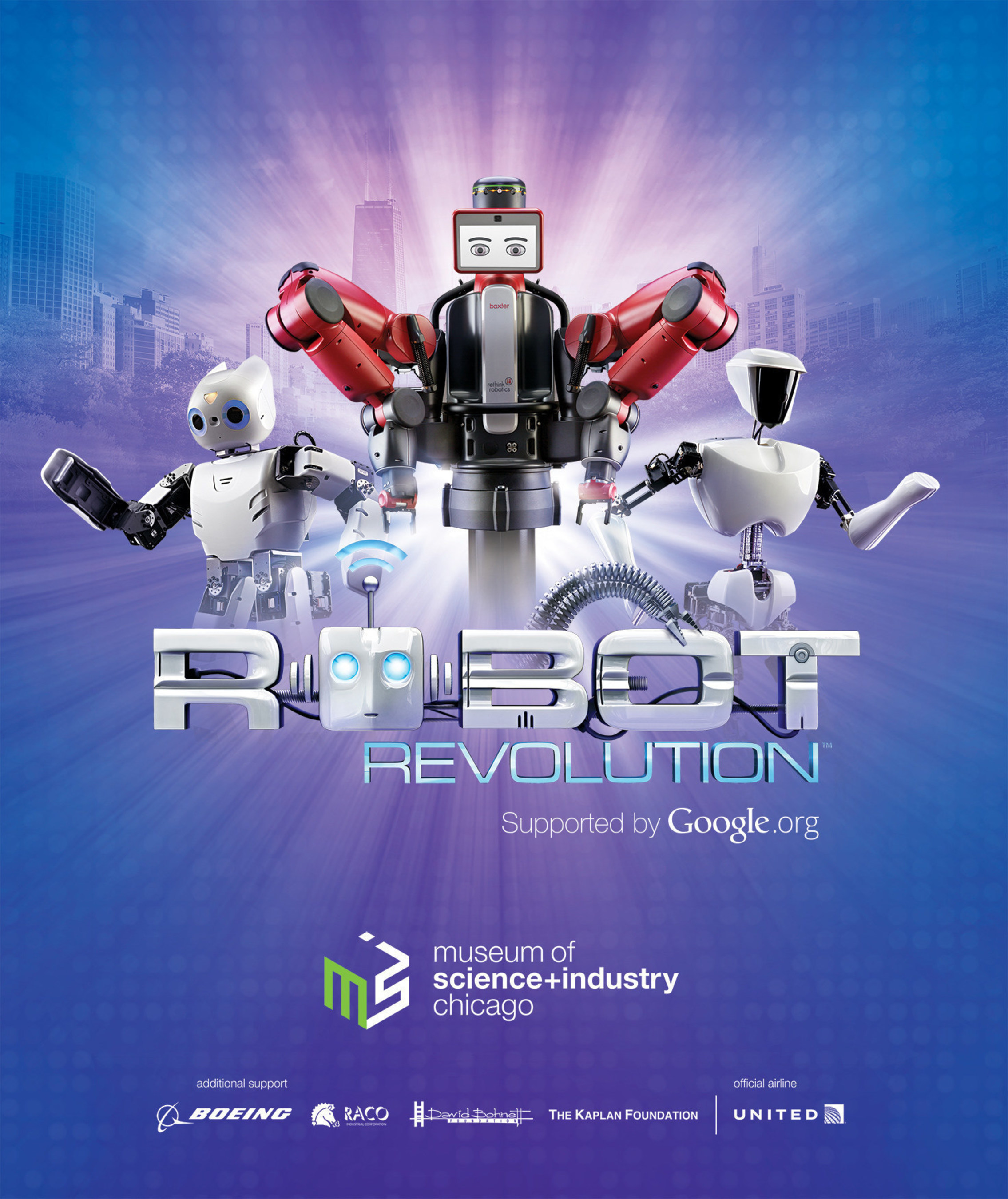 Major robotics exhibit, supported by Google.org, lets you explore, play with and learn from cutting-edge robots from around the world.