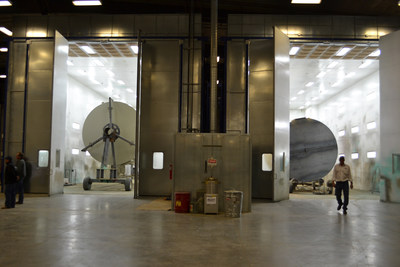 Tanks in Paint Booths at Belle Fourche Industrial Rail Park