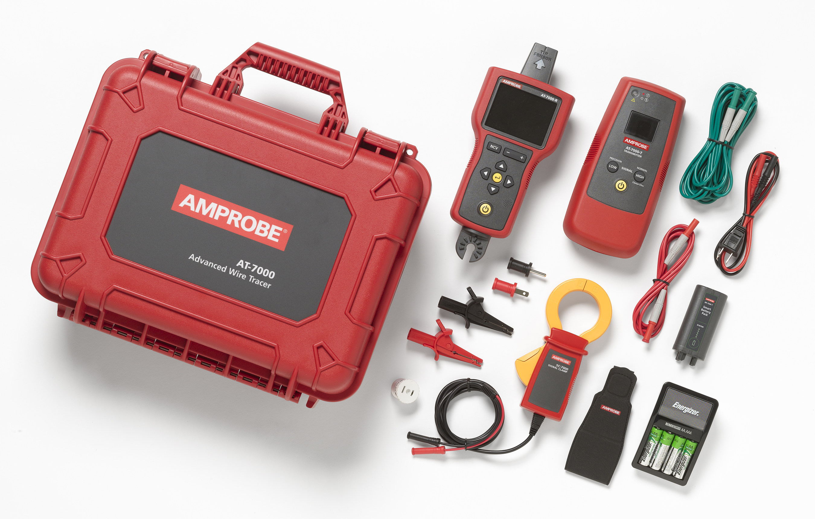 Amprobe AT-7000 Advanced Wire Tracer quickly finds wires and ...
