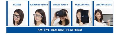 SMI OEM Eye Tracking Platform for desktop, mobile and wearable devices. (PRNewsFoto/SensoMotoric Instruments GmbH)
