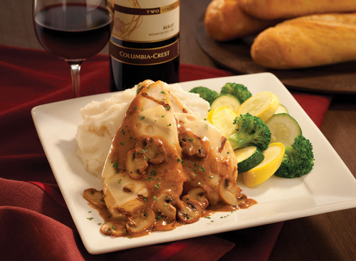 Chicken Madeira offered on Mimi's Cafe's romantic three-course Valentine's Menu for two from ...
