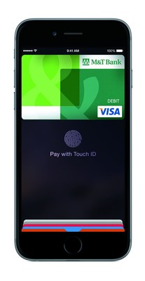 Apple Pay Available for M&T Bank Credit and Debit Cardholders